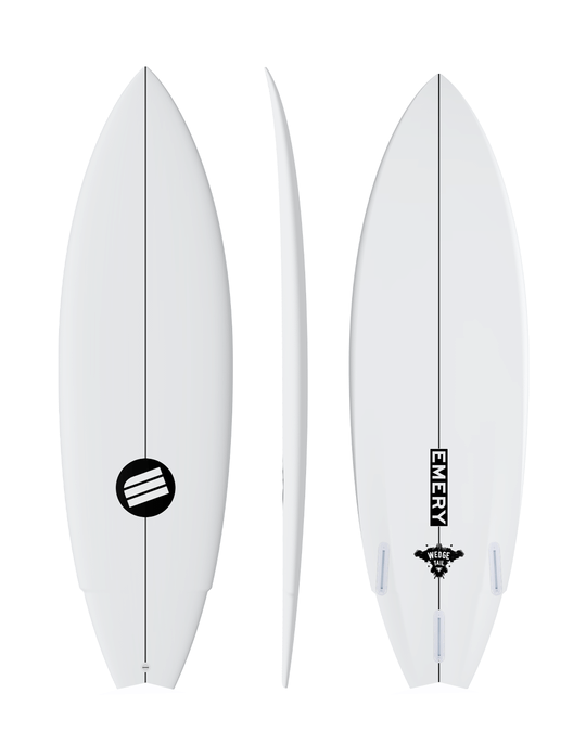 emery surfboard wedge tail